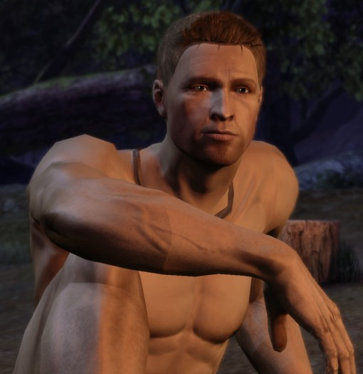 Naked male video game characters