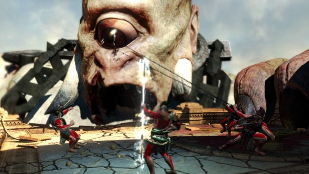 Wasn't it awesome when you ripped out the giant cyclops' eye? Oh wait, that wasn't in the proper game.