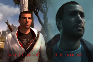 And I thought this change was bad enough. Five seconds in to AC3 and Desmond has been replaced with a skinny Adam Sandler...