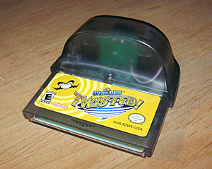 On reflection, it reminds me of the wireless adaptor for Pokemon Leaf Green/Fire Red.
