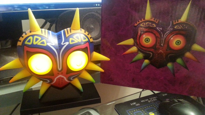 Club Nintendo Majora's Mask Light