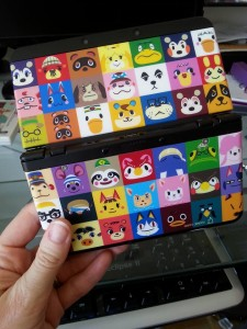 Animal Crossing: Happy Home Designer new 3DS cover plates