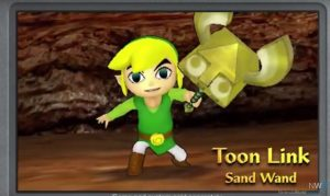 Toon Link with Sand Wand